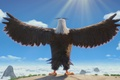 Picture official wallpaper, sugoi, cartoon, Mighty Eagle, wings, 2016 release, Rovio, Angry Birds the Movie, Rovio ...