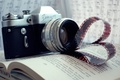 Picture the camera, film, book, film, rarity, Zenit, notes, camera