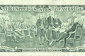 Picture America, trust, declaration, the independence of the dollar, God, money, United States
