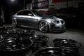 Picture grey matte, drives, matte grey, BMW, bmw, wheels, e92, side view