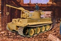 Picture tank, armored vehicule, ww2, painting, Mountain tiger, war, art