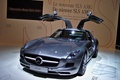 "Picture body, supercar, doors of ""gull wing"", supercar, Mercedes-Benz SLS AMG"