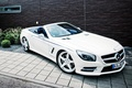 Picture SL 63, wallpapers, Mercedes-Benz, Roadster, car, AMG, white
