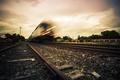 Picture train, speed, railroad