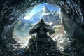 Picture Clouds, Mountains, Look, Snow, Birds, Ice, Icicles, Cave, Light, Fur, Weapons, Bones, Ubisoft, Far Cry ...