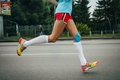 Picture athlete, running, physical activity, Kinesio tape running