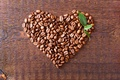 Picture love, heart, coffee, grain