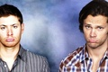 Picture funny faces, the series, Sam, the trick, Dean, supernatural