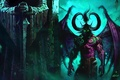 Picture World of Warcraft, Illidan, WOW, Stormrage, Demon, Statue, Illidan Stormrage