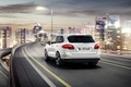 Picture jeep, Porsche, Cayenne, auto, road, the city, Porsche Cayenne