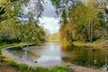 Picture trees, landscape, nature, lake, river