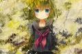Picture girl, paint, art, Vocaloid, Vocaloid, Gumi, hinanosuke