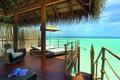 Picture the ocean, Bungalow, the Maldives