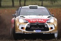 Picture Machine, DS3, Turn, Lights, Auto, Race, The front, Dirt, Skid, WRC, Rally, Sport, Citroen, Rally