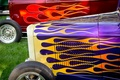Picture hot-rod, classic car, classic, retro, airbrushing