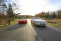 Picture red, honda, Honda, road, Nissan, datsun, white, nissan, skyline, s2000, autumn, forest, tuning, japan, r32, ...