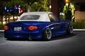 Picture Smoke, Blue, Parking, Parking, Blue, Stance, Mazda, Smoke, Tuning, MX-5, Mazda, Miata