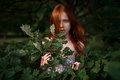 Picture sprig, George Chernyadev, red-haired beauty, Catherine Jasnogorodska, Eve was redhead-2