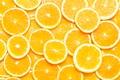 Picture macro, oranges, texture, slices