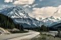 Picture road, mountains, landscape