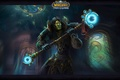 Picture the forsaken, World of Warcraft Wrath of the Lich King, art, The warlock