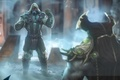 Picture Mortal Kombat X, Tremor, ninja, Shinnok, Shinnok, mask, Mortal Kombat 10, fighter