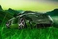 Picture SLS, Tony Kokhan, Tony Kokhan, SLS, AMG, Nature, Green, Transparent, Crystal, el Tony Cars, Nature, ...