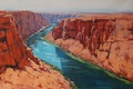 Picture FIGURE, ART, COLORADO RIVER, ARTSAUS