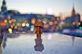 Picture lights, danbo, the evening, mood, danbo, the city